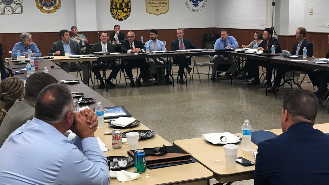 Hager takes part in roundtable discussion on project funding