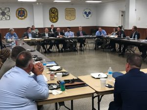 Dorsey Hager, Executive Secretary-Treasurer of the Columbus/Central Ohio Building and Construction Trades Council, attended the Community Development Roundtable event.