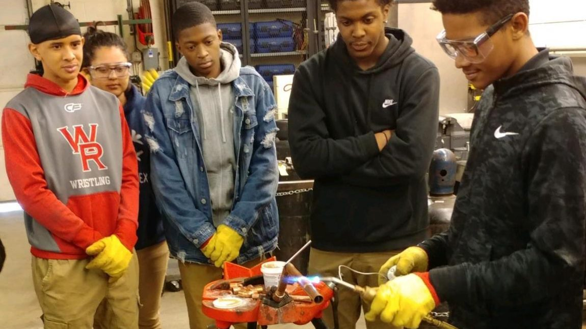 Plumbers, Pipefitters and Service Technicians Local 189 Training Center hosts Walnut Ridge students