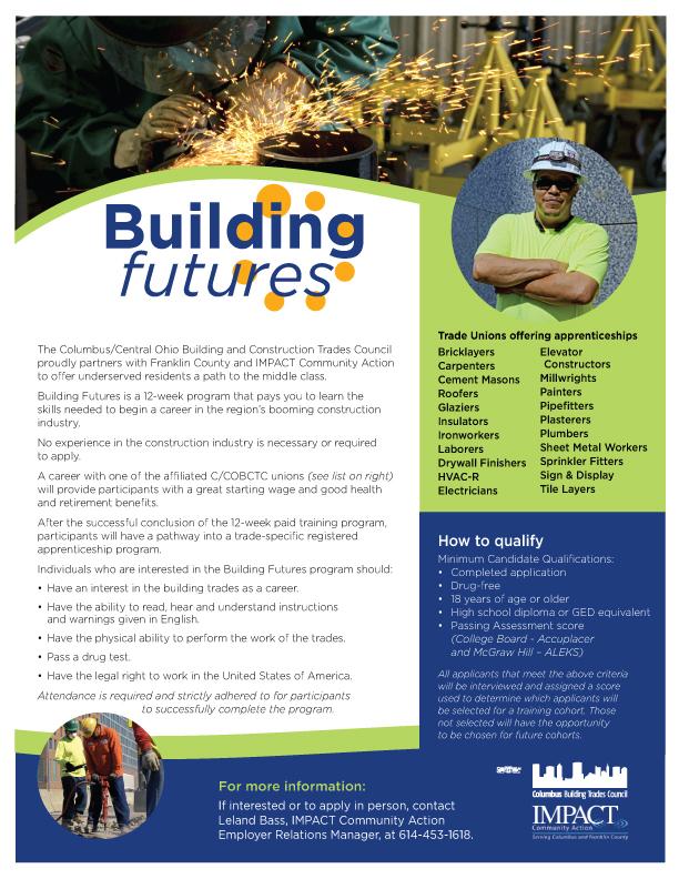 building futures flyer columbus construction