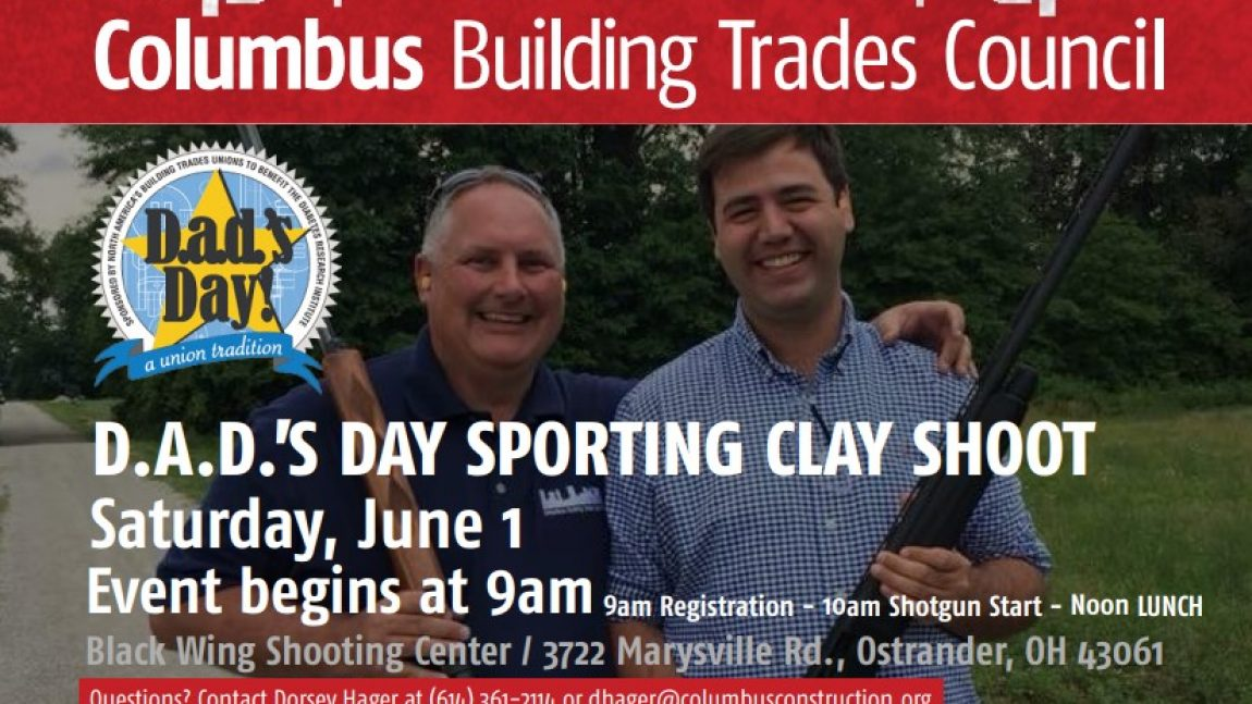 Annual D.A.D.'s Day sporting clay shoot set for June 1