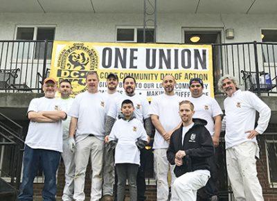 DC 6 Volunteers Fix Up Columbus Rehab House