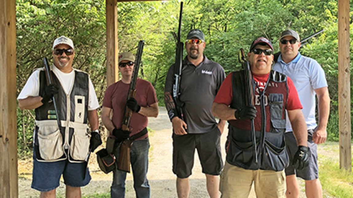 Clay shoot raises funds for D.A.D.'s Day