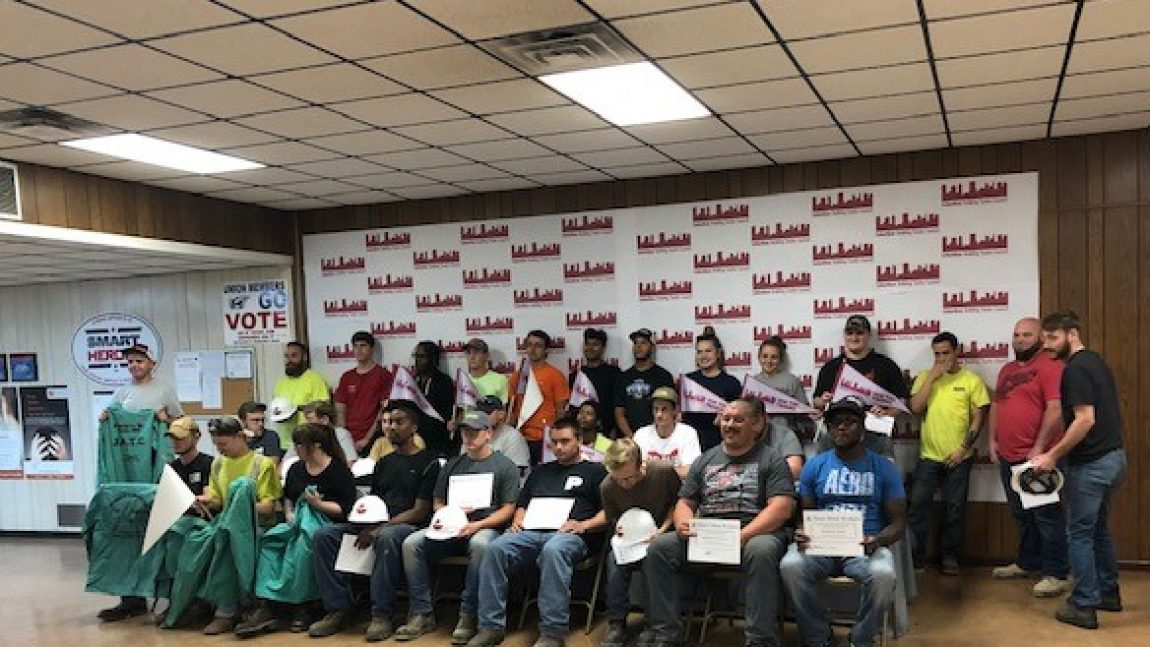 Signing Day in Columbus Recognizes New Apprentices