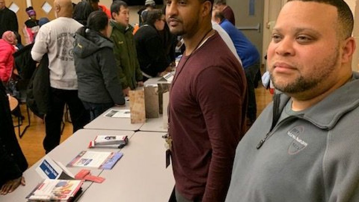 C/COBCTC affiliated unions attend Linden Community Apprenticeship Fair