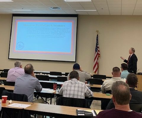 Hager Attends Healthcare Summit