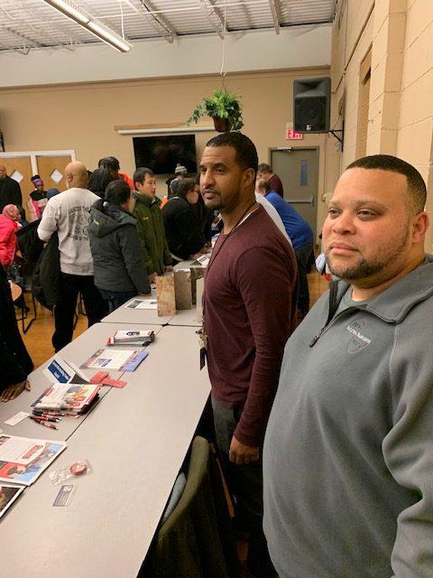 C/COBCTC affiliated unions attend Linden Community Apprenticeship Fair