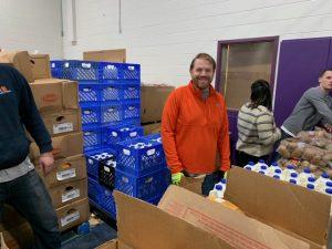 Christmas Cares-Union Shares Food Drive Rob Dorans