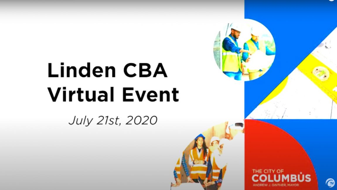 Virtual Linden Park Community Benefits Agreement Event