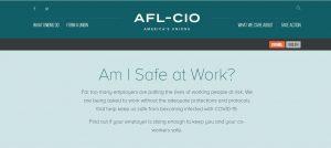 AFL-CIO Am I Safe At Wor
