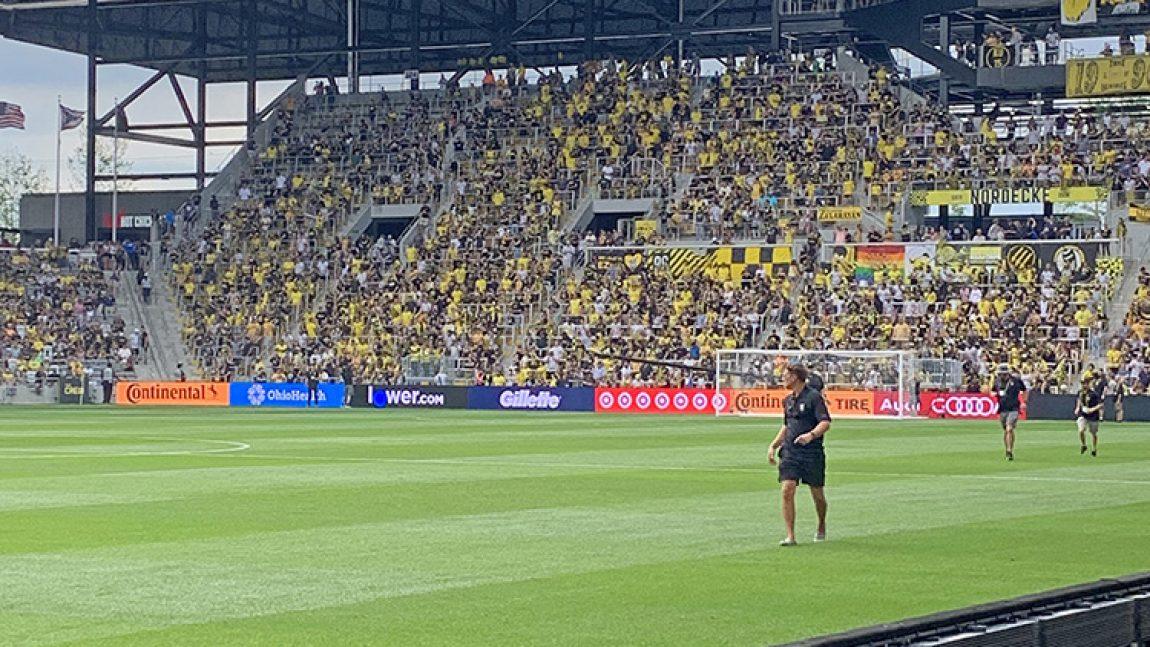 Columbus Crew soccer stadium opens on time for the season